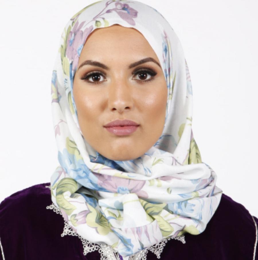 Hoofddoek for Islamitische sportkleding vrouwen